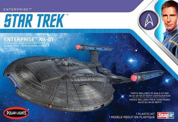 Star Trek NX-01 Enterprise (Snap) 2T