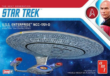 Star Trek U.S.S. Enterprise-D (Snap) 2T (AMT1126M/12)