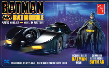Batman 1989 Batmobile with Resin Figure (AMT1107)