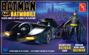 Batman 1989 Batmobile with Resin Figure