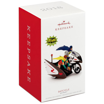 Batman™ Classic TV Series Batcycle™  Hallmark Ornament