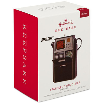 Star Trek™ Starfleet Tricorder Ornament With Light and Sound
