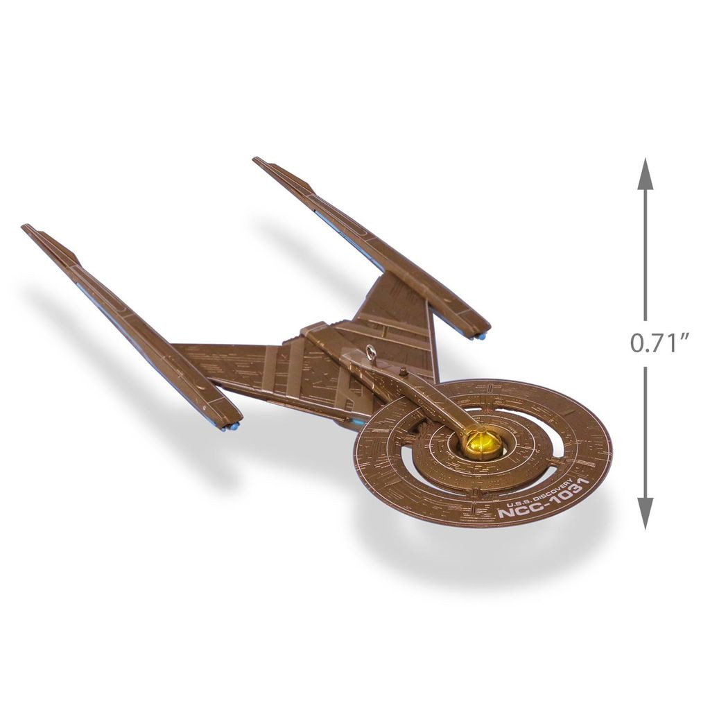 Star Trek: Discovery™ U S S  Discovery™ Ornament With Lights, NCC 1031