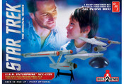 AMT Star Trek USS Enterprise Build2gether (1 glue & 1 snap) Model Kits (AMT913)