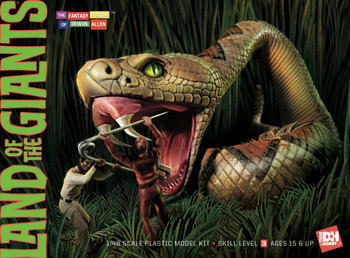 Land of the Giants Snake Diorama - Model Kit (DHG1816)