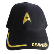 Star Trek Command Adjustable Black Hat