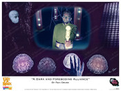 "Lost In Space ""A Dark and Foreboding Alliance"" Art By Ron Gross - Print"