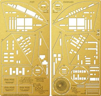 2001: A Space Odyssey - EVA Pod Photoetch set