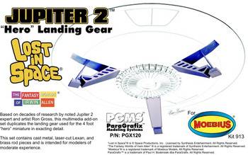 Jupiter 2 Hero Landing Gear - 1:35 Scale