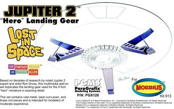 Jupiter 2 Hero Landing Gear - 1:35 Scale