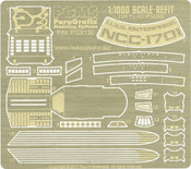 1:1000 Scale Refit Enterprise Photoetch Set (PGX130)