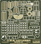 1:677 Scale Voyager Photoetch Set