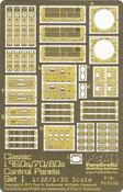 Classic 1960/70/80s Control Consoles, Set 1, 1:32/1:35 (PGX150)