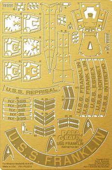 USS Franklin Photoetch Set