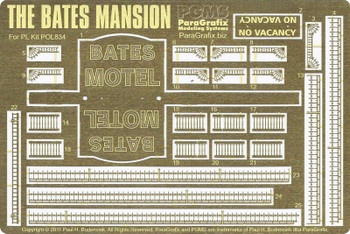 Bates Mansion - HO Scale
