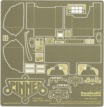 Blade Runner Spinner Photoetch Set - 1:24 Scale