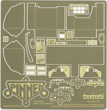 Blade Runner Spinner Photoetch Set - 1:24 Scale