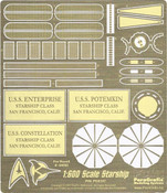 USS Enterprise Photoetch Set for Revell Germany Kit