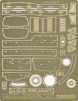 Reliant Photoetch Set - 1/537 Scale