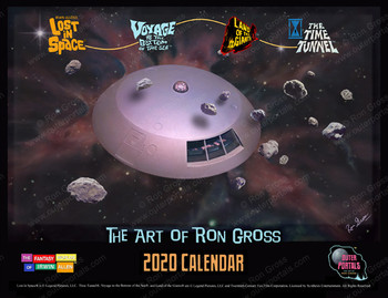 The Fantasy Worlds of Irwin Allen - 2020 Calendar