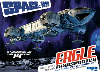 Space 1999 1/72 Scale Eagle ALL NEW KIT from MPC/Round 2 14 inches