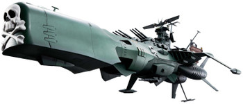 Captain Harlock Space Pirate Battleship Arcadia Soul of Chogokin Die-Cast Metal Vehicle