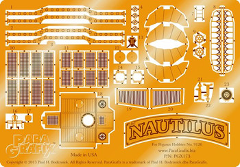 Nautilus Photoetch Set