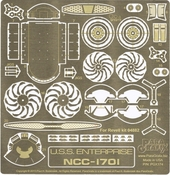 Star Trek (2009) Enterprise Photoetch Set
