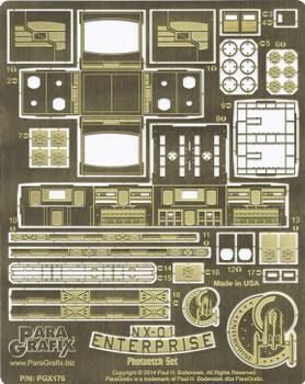 NX-01 Enterprise Photoetch Set - 1/350 Scale