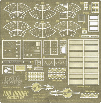 TOS Enterprise Bridge Photoetch Set
