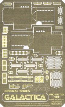 Battlestar Galactica (1978) Photoetch Set