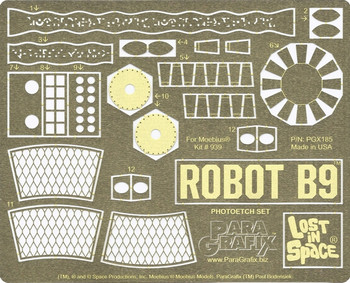 Lost In Space - B9 Robot Photoetch Set