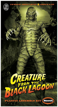 Universal Monsters Creature from The Black Lagoon 1:8 Scale Model Kit Moebius 971