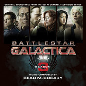 BATTLESTAR GALACTICA : SEASON 3 - Soundtrack CD (LLLCD 1062)