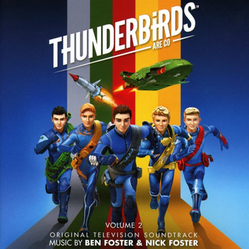 Thunderbirds Are Go Soundtrack CD - Vol 2 (SILCD1538)