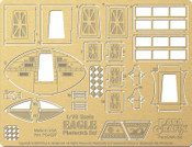 Space 1999 - Photoetch set for MPC913 1/72 scale Eagle Transporter kit PGX227