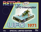 RETRO UFO SHADO INTERCEPTOR