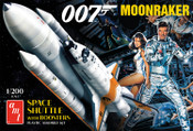 James Bond - 1/200 Moonraker Shuttle with Boosters