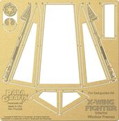 NEW! X-Wing Canopy Frames for DeAgostini Kit - 1/18 scale (PGX229)