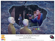 "Lost In Space ""Intruders in the Sacred Palace"" Art By Ron Gross - Print"