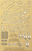 Star Trek - NEW! TOS Enterprise Window Drilling Templates for POL908