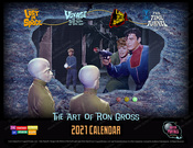 The Fantasy Worlds of Irwin Allen - 2021 Calendar