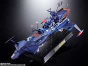 Space Pirate Captain Harlock GX-93 Space Pirate Battleship Arcadia Soul of Chogokin