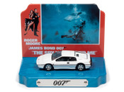 James Bond 1976 Lotus Espirit w/Tin Background 1/64 Scal
