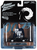 James Bond Aston Martin V8 w/Tin Backgound  1:64 Scale Diecast