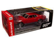 James Bond - 1971 Ford Mustang Mach 1 - Diamonds Are Forever - 1/18 Scale Diecast