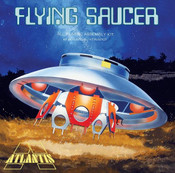 The Invaders UFO -- Science Fiction Plastic Model -- 1/72 Scale