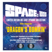 "SPACE: 1999 DIE CAST SET – THIS EPISODE: ""DRAGONS DOMAIN"""