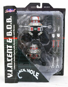The Black Hole V.I.N.CENT and B.O.B. Action Figures