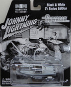 Supercar Diecast - B/W Version - by Johnny Lightning